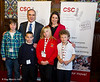 8765 - Garry Kasparov and Rachel Reeves MP with children from St Paul's School