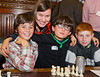 8804 - Meg Hillier MP with children from William Patten Primary School, Hackney