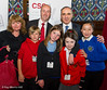 8774 - Geraint Davies MP with children from Gors Community Primary School, Swansea