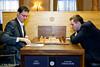 Round 8: Peter Leko vs Alexander Grischuk