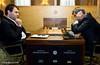 Round 1: Shakriyar Mamedyarov  vs Vassily Ivanchuk
