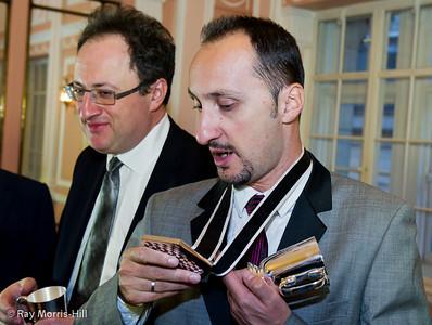 Boris Gelfand and Veselin Topalov