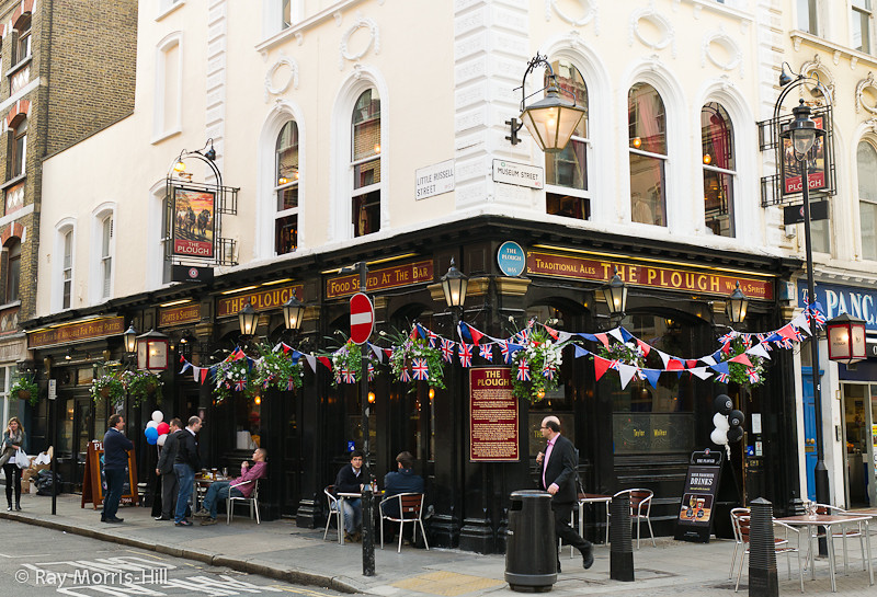 The Plough Public House, Museum Street, London