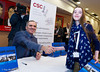 Garry Kasparov was pleased to sign books for his fans