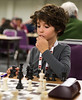 Joshua Altman aged 7, winning his game in the Weekender 'A' U120 section.