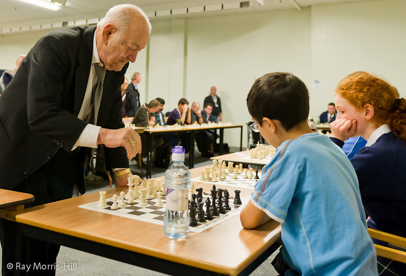 Viktor Korchnoi simultaneous display - 14th December 2010
