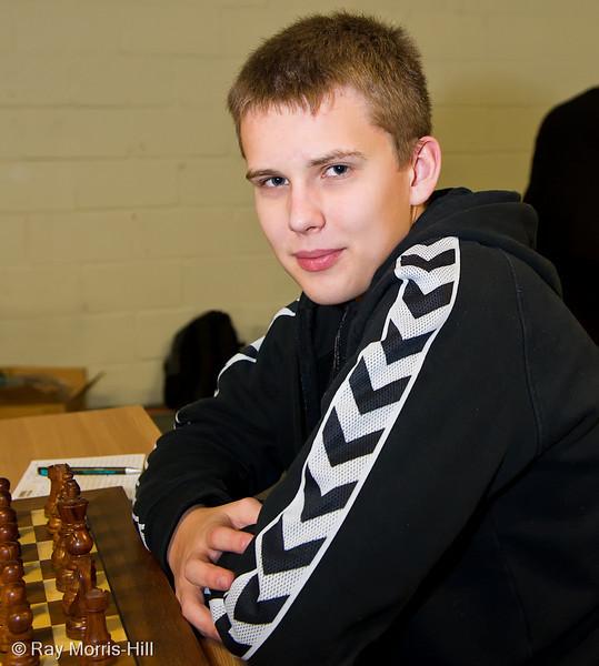 FIDE Open Round 3: Mads Andersen