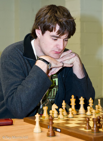 Round 8 FIDE Open: Gawain Jones
