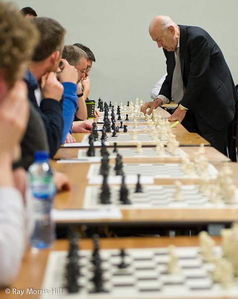Viktor Korchnoi simultaneous display - 14th December 2010