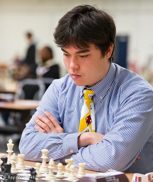 FIDE Open Round 9: John Sargent