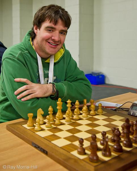 Fide Open Round 1: Gawain Jones