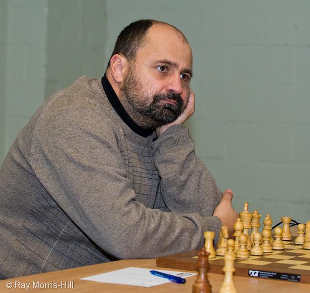 FIDE Open Round 5: Jovica Radovanovic