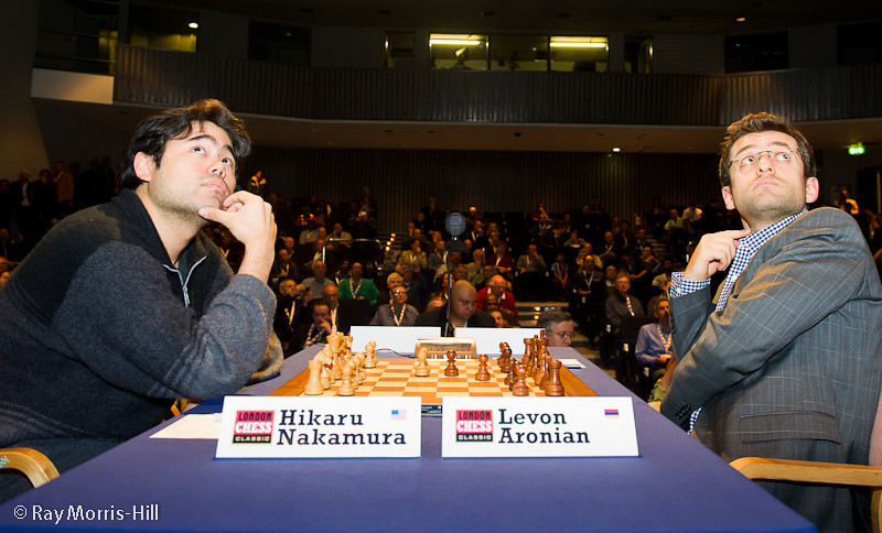 Hikaru Nakamura vs Levon Aronian, Round 2