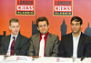 Michael Adams, Levon Aronian and Viswanathan Anand