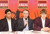 Viswanathan Anand, Malcolm Pein and Magnus Carlsen