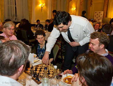 The 3rd London Chess Classic Champion Vladimir Kramnik takes on guests at Simpson's-in-the-Strand