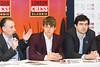 Malcolm Pein, Magnus Carlsen and Vladimir Kramnik