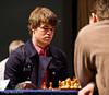 Magnus Carlsen vs Luke McShane, Round 2