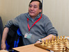 Mark Hebden at the start of Round 1 of the FIDE Open