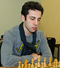 Hrant Melkumyan, joint winner of the FIDE Open