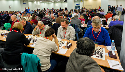 The playing hall was packed on Saturday, 8 December 2012