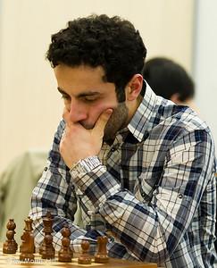 Hrant Melkumyan, joint winner of the FIDE Open