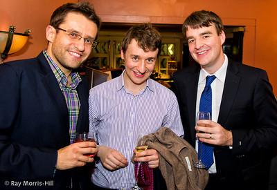 Levon Aronian, Luke McShane and Gawain Jones