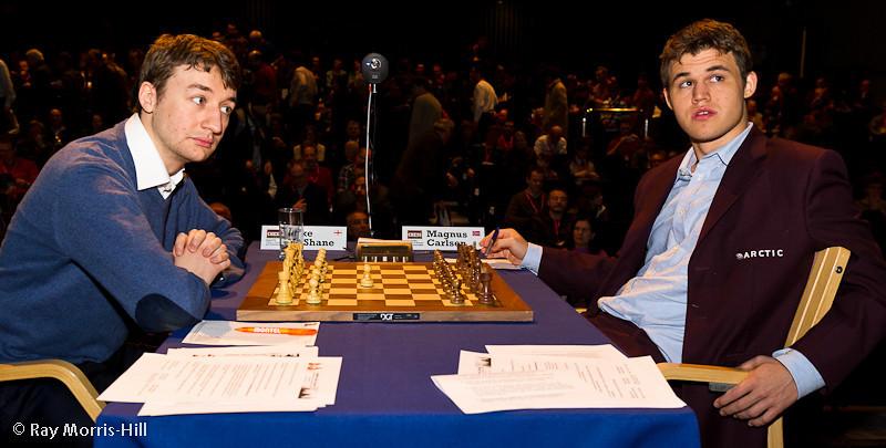 Round 1: Luke McShane vs Magnus Carlsen