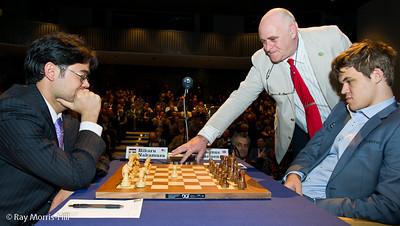 Round 7: Hikaru Nakamura vs Magnus Carlsen