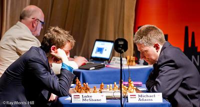 Round 7:  Michael Adams vs Luke McShane
