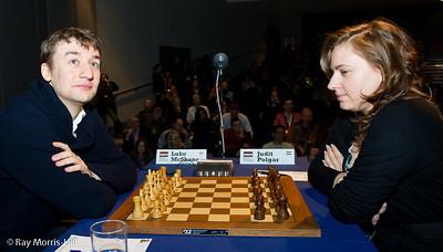 Round 8:  Luke McShane vs Judit Polgar