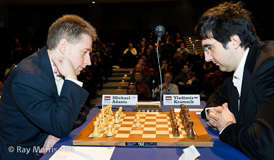 Roudn 9: Michael Adams vs Vladimir Kramnik