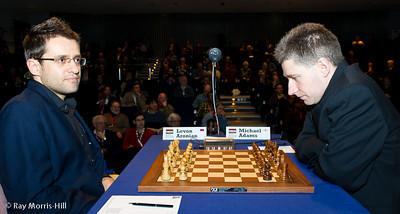 Round 8: Levon Aronian vs Michael Adams