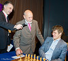 MIke Basman made the first move for Magnus Carlsen in Round 6 - 1. h3.  Not surprisingly. Magnus retracted it.