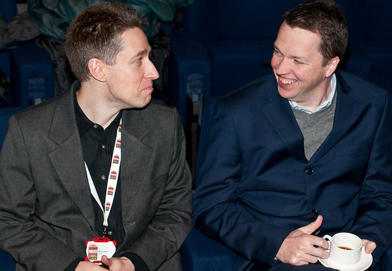 Michael Adams and Nigel Short - London Chess Classic