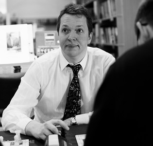 Nigel Short at the London Chess Centre