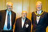 Roger Edwards, Stewart Reuben and Councillor Julien Parrott