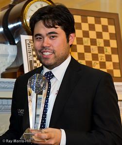 Hikaru Nakamura, winner of the London Chess Classic 2013