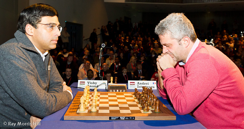 Round 5: Vishy Anand vs Andrei Istratescu