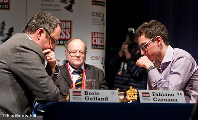 Quarter-final play-off - Boris Gelfand vs Fabiano Caruana