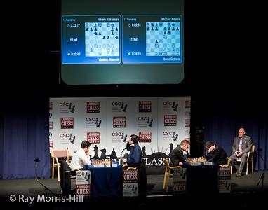 Semi-Finals: Nakamura vs Kramnik and Adams vs Gelfand