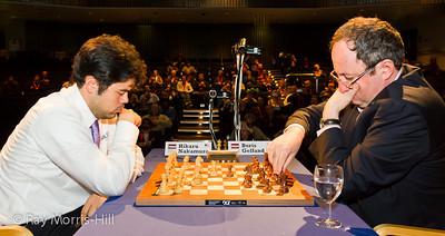 The Final, Game 1:  Hikaru Nakamura vs Boris Gelfand