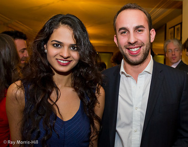 Tania Sachdev and Lawrence Trent