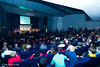 Packed auditorium for the Opening Ceremony