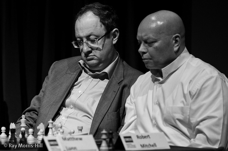 Boris Gelfand partnered Robert Mitchell in the Pro-Am