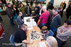 Grandmaster Blitz in the foyer, in aid of Chess in Schools and Communities