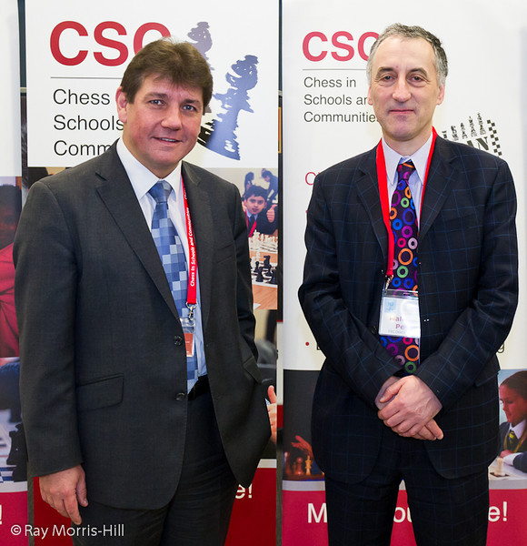 Stephen Metcalfe MP and Malcolm Pein