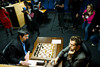 Round 12:  Vladimir Kramnik plays Black in the crucial game with Levon Aronian