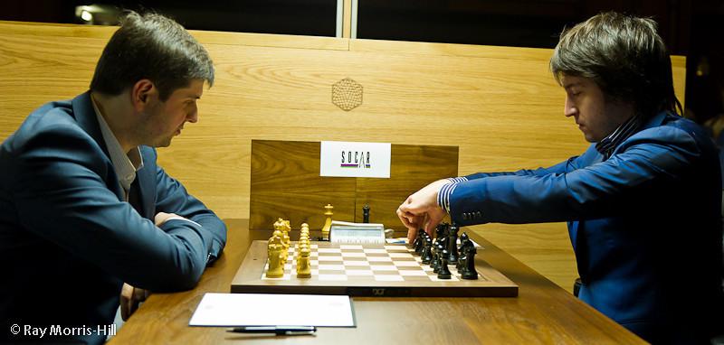 Round 3: Peter Svidler vs Teimour Radjabov