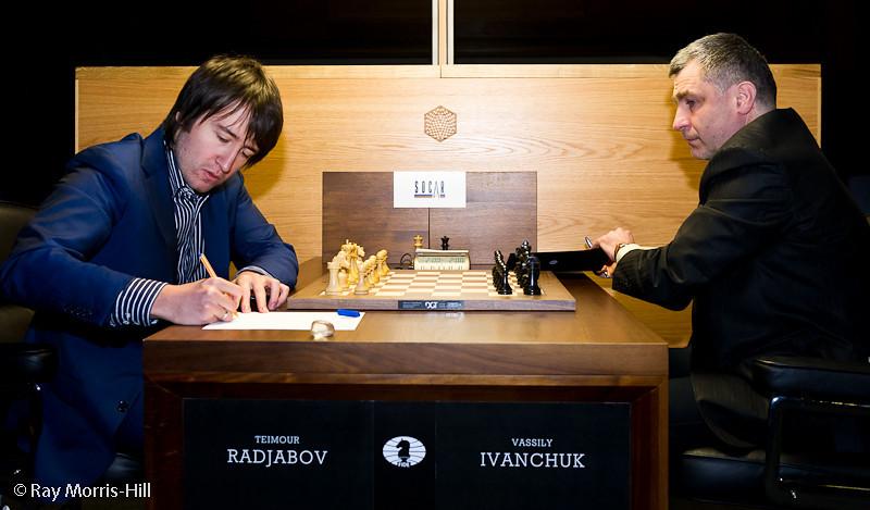 Round 2: Teimour Radjabov vs Vassily Ivanchuk